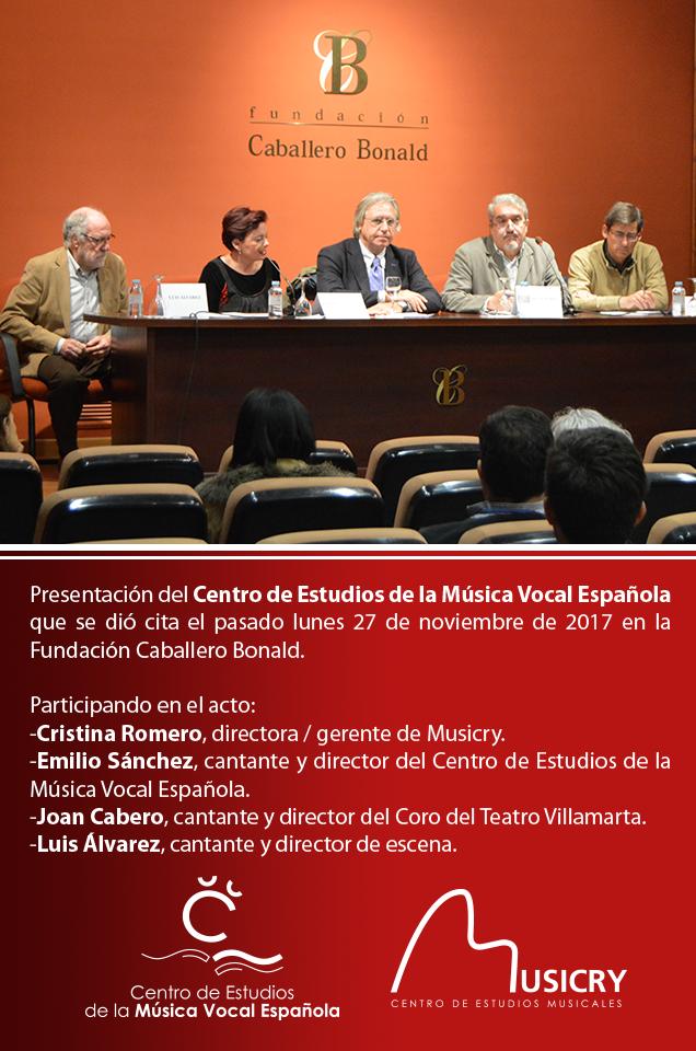 Música Vocal Española